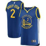 Fanatics Branded Willie Cauley-Stein Golden State Warriors Youth Royal Fast Break Replica Jersey - Icon Edition