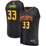 Fanatics Branded Allen Crabbe Atlanta Hawks Black Fast Break Replica Jersey - Icon Edition