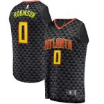 Fanatics Branded Thomas Robinson Atlanta Hawks Black Fast Break Replica Jersey - Icon Edition