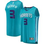 Fanatics Branded Terry Rozier Charlotte Hornets Youth Teal Fast Break Replica Jersey - Icon Edition