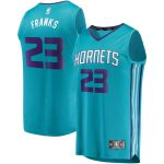 Fanatics Branded Robert Franks Charlotte Hornets Youth Teal Fast Break Replica Jersey - Icon Edition