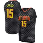 Fanatics Branded Vince Carter Atlanta Hawks Black Fast Break Replica Jersey - Icon Edition