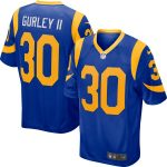 Nike Todd Gurley II Los Angeles Rams Royal Player Game Jersey