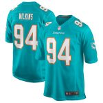 Christian Wilkins Miami Dolphins Nike Game Jersey - Aqua