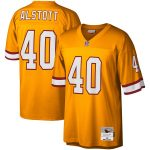 Mitchell & Ness Mike Alstott Tampa Bay Buccaneers Orange Legacy Replica Jersey