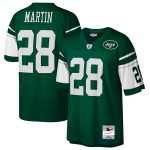 Mitchell & Ness Curtis Martin New York Jets Green Retired Player Legacy Replica Jersey