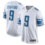 Nike Matthew Stafford Detroit Lions White 2017 Game Jersey