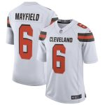Nike Baker Mayfield Cleveland Browns White Limited Jersey