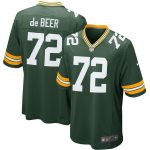 Nike Gerhard de Beer Green Bay Packers Green Game Jersey