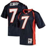 Mitchell & Ness John Elway Denver Broncos Navy 1997 Authentic Throwback Retired Player Jersey