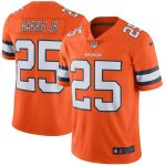 Nike Chris Harris Jr Denver Broncos Orange Vapor Untouchable Color Rush Limited Player Jersey