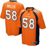 Nike Von Miller Denver Broncos Orange Game Jersey
