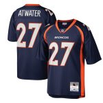 Mitchell & Ness Steve Atwater Denver Broncos Navy Legacy Replica Jersey