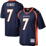 Mitchell & Ness John Elway Denver Broncos Navy Legacy Replica Jersey