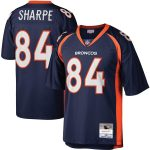 Mitchell & Ness Shannon Sharpe Denver Broncos Navy Legacy Replica Jersey