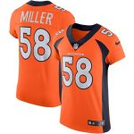 Nike Von Miller Denver Broncos Orange Alternate Vapor Untouchable Elite Jersey