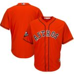 Majestic Houston Astros Orange 2019 World Series Bound Official Cool Base Team Jersey
