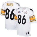 Mitchell & Ness Hines Ward Pittsburgh Steelers White 2005 Authentic Retired Player Jersey
