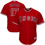 Majestic Shohei Ohtani Los Angeles Angels Scarlet Alternate Official Cool Base Replica Player Jersey