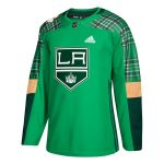 adidas Los Angeles Kings Green St. Patrick's Day Authentic Practice Jersey