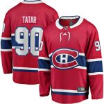 Fanatics Branded Tomas Tatar Montreal Canadiens Red Home Breakaway Player Jersey