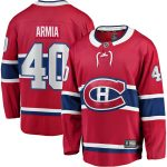 Fanatics Branded Joel Armia Montreal Canadiens Red Home Breakaway Player Jersey