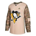adidas Pittsburgh Penguins Camo Veterans Day Practice Jersey