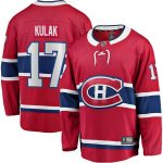 Fanatics Branded Brett Kulak Montreal Canadiens Red Home Breakaway Player Jersey