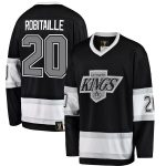 Fanatics Branded Luc Robitaille Los Angeles Kings Black Premier Breakaway Retired Player Jersey