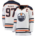 Fanatics Branded Connor McDavid Edmonton Oilers Women's White Breakaway Player Jersey