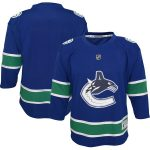 Vancouver Canucks Youth Blue Replica Jersey