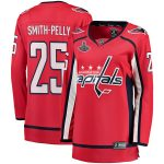 Fanatics Branded Devante Smith-Pelly Washington Capitals Women's Red 2018 Stanley Cup Champions Home Breakaway Player Jersey