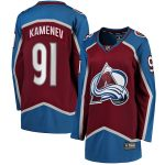 Fanatics Branded Vladislav Kamenev Colorado Avalanche Women's Burgundy Home Breakaway Player Jersey