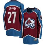 Fanatics Branded Ryan Graves Colorado Avalanche Women's Burgundy Home Breakaway Player Jersey