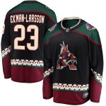 Fanatics Branded Oliver Ekman-Larsson Arizona Coyotes Black Premier Breakaway Player Jersey