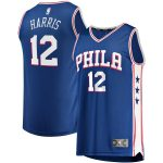 Fanatics Branded Tobias Harris Philadelphia 76ers Royal Fast Break Replica Player Jersey - Icon Edition