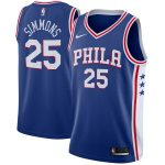 Nike Ben Simmons Philadelphia 76ers Royal Swingman Jersey - Icon Edition