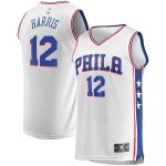 Fanatics Branded Tobias Harris Philadelphia 76ers White Fast Break Replica Player Jersey - Association Edition