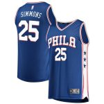 Fanatics Branded Ben Simmons Philadelphia 76ers Royal Fast Break Replica Jersey - Icon Edition