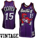 Mitchell & Ness Vince Carter Toronto Raptors 1998-1999 Throwback Authentic Jersey - Purple