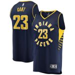 Fanatics Branded JaKeenan Gant Indiana Pacers Navy Fast Break Replica Jersey - Icon Edition