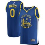 Fanatics Branded D'Angelo Russell Golden State Warriors Royal Fast Break Replica Player Jersey - Icon Edition