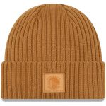 New Era Golden State Warriors Tan Label Cuffed Knit Hat