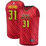 Fanatics Branded Chandler Parsons Atlanta Hawks Navy Fast Break Replica Player Jersey - Statement Edition