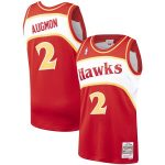 Mitchell & Ness Stacey Augmon Atlanta Hawks Red Hardwood Classics 1991-92 Swingman Jersey