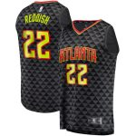 Fanatics Branded Cam Reddish Atlanta Hawks Black Fast Break Replica Jersey - Icon Edition