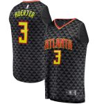 Fanatics Branded Kevin Huerter Atlanta Hawks Black Fast Break Replica Jersey - Icon Edition