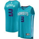 Fanatics Branded Terry Rozier Charlotte Hornets Teal Fast Break Replica Player Jersey - Icon Edition