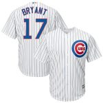 Kris Bryant Chicago Cubs Youth White Official Cool Base Player Jersey