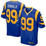 Nike Aaron Donald Los Angeles Rams Royal Player Game Jersey